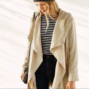 Urban Outfitters Asymmetrical Khaki Jacket